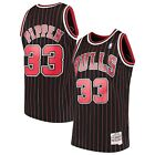 Chicago Bulls Scottie Pippen Mitchell & Ness Black 1995-96 NBA Swingman Jersey on eBay
