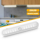 2PCS Portable Wireless 20LED Motion Sensor Night Light Under Cabinet Closet Lamp