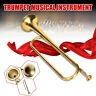 More images of Child Musical Golden Trumpet Horn Instrument Military School Beginner Gift
