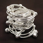 Wholesale Lots Cute S80 Silver Children Kid Baby Bell Bracelet Bangle Anklet