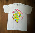 Vintage T-Shirt 1990 The Simpsons Why You Little REPRINT Size S- 2XL image