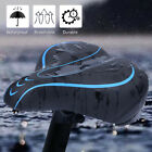 1x Bicycle Seat Cushion Saddle Shock-proof Sports Soft Front Seat Mat With Light