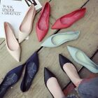 Womens Pointy Toe moccasin Flats Shoes Slip On Driving Shoes Rubber Jelly Shoes