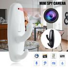 Portable Spy Camera Hidden Clothes Hook Nanny Babysitting Home Security DVR Cam