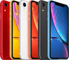 Apple iPhone Xr 64/128/256gb Unlocked - Black, Red, Yellow, Blue, White, Coral