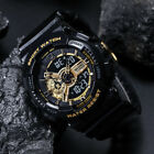SMAEL Men Military Shock Sport Tactical Date Analog Quartz Wrist Watch Dual Time image
