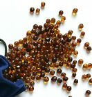 Genuine Baltic Amber Loose Beads Cognac Or Mixed Colours With Holes 57-70 Beads