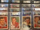 1987 Cartophilium Hockey Hall of Fame Ungraded & BGS Graded Cards Pick Your Card