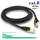 CAT8 Ethernet with RJ45 Gold Plated Connector for Use of Office Smart Home LOT