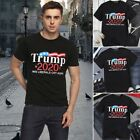 Men's Donald Trump 2020 MAKE LIBERALS CRY AGAIN Letter Printed Funny T-Shirt $9.69 USD on eBay
