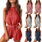Summer Women Holiday Mini Playsuit Jumpsuit Beach Shorts Boho Dress Romper S-XL