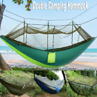 Military Double Person Hammock Tent with Mosquito Net for Outdoor Camping Travel