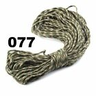 Outdoor 25-50-100-FT Paracord 550 Parachute Cord Lanyard Rope Mil Spec Type III