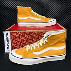 *NEW* Vans Authentic Old Skool Sk8-Hi (Men Sizes) Skate Shoes Yellow Wheat High