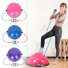 "24"" Yoga Ball Balance Trainer Strength Exercise Yoga Fitness Workout with Pump image"