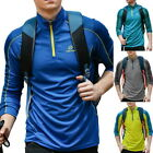 1-Unisex Outdoor Sports Quick-Drying Clothes Running Long sleeves Workout Shirt