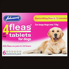JOHNSONS 4FLEAS 6 TABLET PACK STARTS TO KILL DOG & CAT FLEAS IN 15 MINUTES-RSPCA