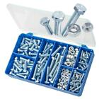 Zinc Plated Mild Steel M6 M8 Hex Bolt & Nuts TORRES Assortment Kit #HAK11