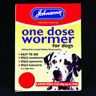 JOHNSONS SIZE 3 ONE DOSE WORMER DOG ROUNDWORM & TAPEWORM WORMING TABLETS - RSPCA