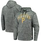 Pittsburgh Pirates Stitches Digital Fleece Pullover Hoodie - Heathered Black on Ebay