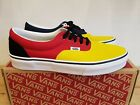 NEW IN THE BOX VANS ERA OTW RALLY NAVY/YELLOW/RED SHOES FOR MEN