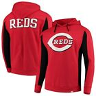 Cincinnati Reds Fanatics Branded Team Logo Iconic Fleece Pullover Hoodie - on Ebay