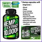 Hemp Oil Capsules For Pain Relief & Anxiety Support Health & Sleep, 10000MG