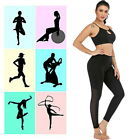 Lady Mesh High Waist Tight Leggings Casual Tight Fitness Yoga Sport  Long Pants#