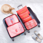 9Pcs Travel Storage Bag Clothes Packing Cube Luggage Organizer Pouch Compression