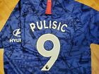 Внешний вид - New 2019/20 Chelsea fc soccer Home jersey Nike size M medium Pulisic 19/20
