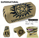 TV Supernatural Stationery Canvas Pencil Case Pen Bag School Office Supplies photo