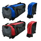 80 Litre Travel Bag Foldable With Wheels Luggage Trolley Bag with Shoulder Strap