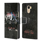 OFFICIAL MOTLEY CRUE ALBUMS LEATHER BOOK WALLET CASE FOR WILEYFOX & ESSENTIAL