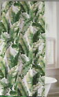 "Tommy Bahama Tropical Shower Curtain Banana Leaves 100% Cotton 72"" x 72"""
