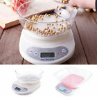 5kg/1g Digital Kitchen Scale Food Electronic Gram Scales Diet Cooking w/ Bowl