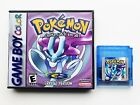 Pokemon Crystal Version - Custom Case Gameboy Color GBC USA