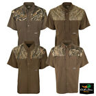 DRAKE WATERFOWL EST TWO TONE CAMO FLYWEIGHT WINGSHOOTER'S SHIRT SHORT SLEEVE