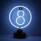 Neon Eight 8 Ball Table Lamp Pub Billiards Sculpture Neonetics 48BALL 35cm Tall £59.95 GBP on eBay