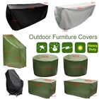 Waterproof Outdoor Patio Garden Furniture Table Chair Rain Snow Dust Cover 8size