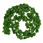 12pcs Green Hanging Vine Plant Leaves Party Home Garden Wall Decoration Flowers