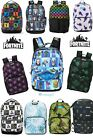 LICENSED FORTNITE Skin Camo Llama Pinata Amplify BACKPACK LAPTOP LUNCH BAG SET