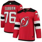PK Subban New Jersey Devils adidas Authentic Player Jersey Red