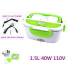 1.5 L Portable Lunch Box Electric Food Storage Car Container Heater 40W 110V