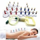 12 / 24 Cups Medical Chinese Vacuum Cupping Body Massage Therapy Healthy Suction $10.75 USD on eBay