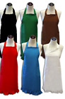Blank Adult Ruffled Aprons with Pockets - Customization Available