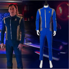 Star Trek Discovery Captain Lorca Cosplay Costume Blue Mens Command Suit Uniform on eBay