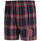 Boston Red Sox Concepts Sport Hillstone Flannel Boxers - Navy/Red on Ebay