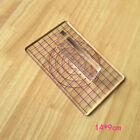 T Type Transparent Acrylic Stamp Pressure Clay Pottery Mud Plate Sculpture Tool  image