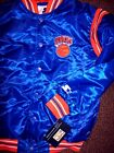 YOUTH NEW YORK KNICKS STARTER Satin Jacket BLUE Sewn Logos YOUTH MEDIUM (12-14) on eBay