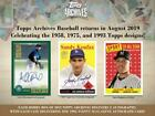 2019 Topps Archives Baseball - Pick / Choose Your Single Card (201-300) Presale on Ebay